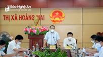 Cách ly xã hội xã Quỳnh Liên, thị xã Hoàng Mai do có 4 ca nhiễm Covid-19