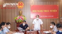 Thực hiện giãn cách xã hội theo Chỉ thị 15 đối với huyện Nghi Lộc