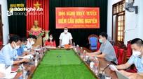 Giãn cách xã hội huyện Hưng Nguyên theo Chỉ thị 15 từ 0h ngày 18/8
