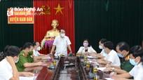 Giãn cách xã hội huyện Nam Đàn theo Chỉ thị 15 từ 0h ngày 18/8