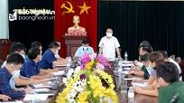 Giãn cách xã hội thị xã Thái Hòa theo Chỉ thị 15 từ 18h ngày 17/8