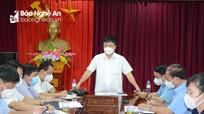 Huyện Nghi Lộc cách ly xã hội theo Chỉ thị 16 từ 0 giờ ngày 19/8