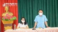Cách ly xã hội theo Chỉ thị 16 huyện Hưng Nguyên từ 12h ngày 19/8