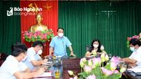 Huyện Nam Đàn thực hiện cách ly xã hội theo Chỉ thị 16 từ 12h ngày 19/8