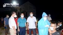 Giãn cách xã hội theo Chỉ thị 15 toàn bộ huyện Diễn Châu từ 12h ngày 19/8