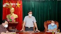 Yêu cầu xử lý nghiêm tổ chức, cá nhân vi phạm quy định phòng, chống dịch Covid-19 ở Đô Lương