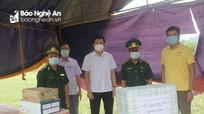 Con Cuông: Tập trung chống dịch Covid-19, ổn định cuộc sống người dân