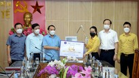 Ngành Y tế Nghệ An đón nhận 4 máy thở do Tập đoàn TH trao tặng