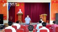 Tiếp tục cách ly xã hội, lấy mẫu xét nghiệm cho người dân 2 xóm ở xã Diễn Đoài, Diễn Châu