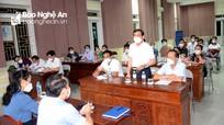 Sở Y tế Nghệ An họp khẩn với thị xã Cửa Lò và huyện Nghi Lộc lúc rạng sáng