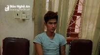 Bắt giữ nam thanh niên gây 20 vụ cướp giật ở Nghệ An