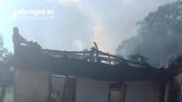 Hỏa hoạn thiêu rụi nhà dân