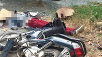 Xe tải tông xe máy, 2 phụ nữ thương vong