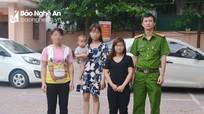 Giải cứu thành công 3 phụ nữ bị lừa bán ra nước ngoài