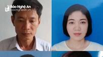 Khởi tố nguyên Trưởng ban Quản lý rừng phòng hộ Quỳnh Lưu và 3 thuộc cấp