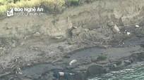 Phát hiện thi thể một người đàn ông trôi dưới chân cầu Yên Xuân