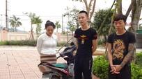 Bắt 3 con nghiện nam nữ thực hiện 13 vụ cướp giật tại 'quê lúa' của Nghệ An