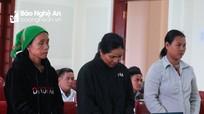 Người đàn bà địu con đến hầu tòa vì dẫn phụ nữ đi bán bào thai