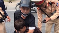 Cảnh sát giao thông quật ngã đối tượng vận chuyển 2.000 viên ma túy tổng hợp