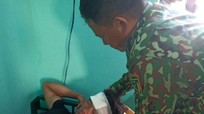 Kịp thời cấp cứu thuyền viên Nghệ An bị nạn trên biển