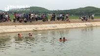 Về thăm quê ra sông Đào tắm, nam sinh lớp 8 bị nước cuốn tử vong