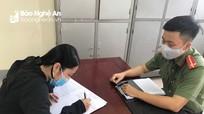 Xử lý 'hot girl' ở Nam Đàn đăng thông tin sai sự thật về Covid-19 để bán khẩu trang