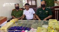 Thanh Chương thưởng nóng chuyên án bắt 16 bánh heroin, 7kg ma túy đá