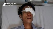 Cán bộ địa chính xã ở Nghệ An bị tố dùng xẻng đánh gục người sau va chạm giao thông