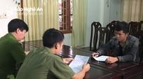 Nam thanh niên ở Đô Lương bị phạt vì vu khống công an trên Facebook