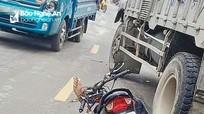 Người đàn ông tử vong dưới bánh xe tải chở mía