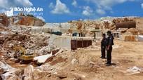 Cận cảnh hiện trường vụ khai thác hơn 800m³ đá trắng, trị giá 10 tỷ đồng ở Quỳ Hợp