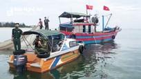 Bắt 7 phương tiện tàu thuyền vi phạm Chỉ thị 16 và khai thác thủy, hải sản trái phép