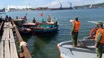 6 chủ phương tiện tàu cá vi phạm Chỉ thị 16