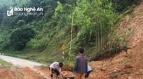 Nghệ An: Hơn 30 điểm sạt lở nghiêm trọng ảnh hưởng đến giao thông do mưa lũ