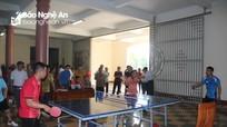 Hơn 100 tay vợt tranh tài Giải bóng bàn huyện Yên Thành