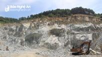 Đô Lương xử phạt 7 doanh nghiệp khai thác đá