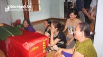 Nỗi đớn đau của gia đình 5 học sinh đuối nước ở Nghệ An