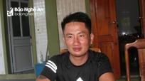 Thuyền viên đầu tiên được cứu sống ở biển Quảng Bình đoàn tụ cùng gia đình ở Nghệ An