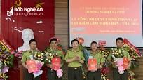 Công bố Quyết định thành lập Hạt Kiểm lâm Nghĩa Đàn - Thái Hòa