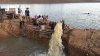 Nghệ An: Tập trung cứu lúa vùng hồ chứa và cuối nguồn trong hạn hán