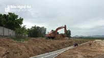 Nghi Lộc nỗ lực hoàn thành hạ tầng khu tái định cư dự án cao tốc Bắc-Nam