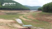 Nghệ An: Hồ đập vẫn cạn trơ đáy dù đã bước vào mùa mưa