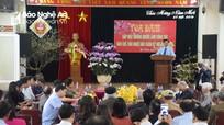 Yên Thành: Gặp mặt con em làm công tác báo chí, văn nghệ đầu xuân Kỷ Hợi