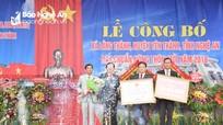 Xã Lăng Thành (Yên Thành) đón Bằng công nhận xã đạt chuẩn nông thôn mới
