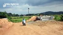Con Cuông: Chậm tiến độ dự án giao thông Mậu Đức - Thạch Ngàn