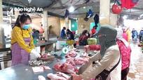 Vì sao Chính phủ yêu cầu giảm giá, thịt lợn ở Nghệ An vẫn neo mức cao?
