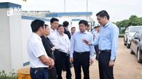 Lãnh đạo tỉnh kiểm tra một số mô hình, dự án tại huyện Nghĩa Đàn