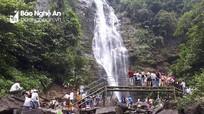 Hàng chục nghìn du khách đến với Con Cuông trong 3 ngày nghỉ lễ