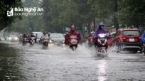 Hai ngày 18 và 19/10 Nghệ An có mưa to và dông