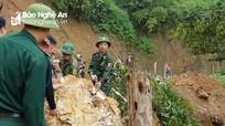 Nghệ An đề nghị Quân khu 4 hỗ trợ lực lượng khắc phục hậu quả do mưa lũ